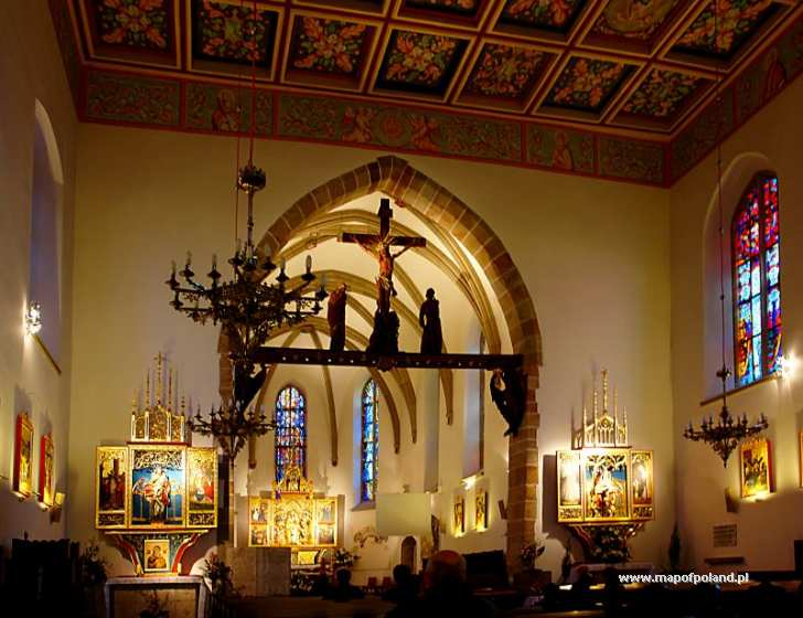 Church - Jaslo pictures. Map of Poland, Jaslo pictures, photo gallery ...