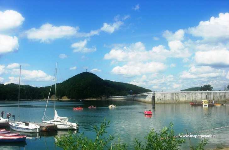 Jezioro Solinskie - zapora - Solina
