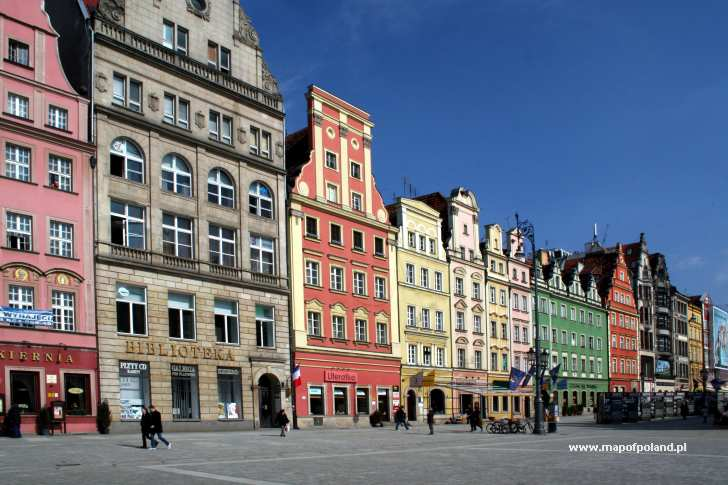 The Tenement House In The Market Square In Wroclaw Photo