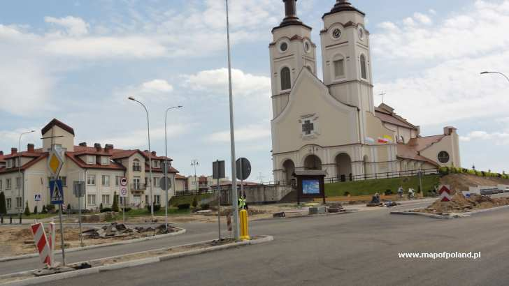 Lomza Poland Map.Church In Lomza Photo 13 99